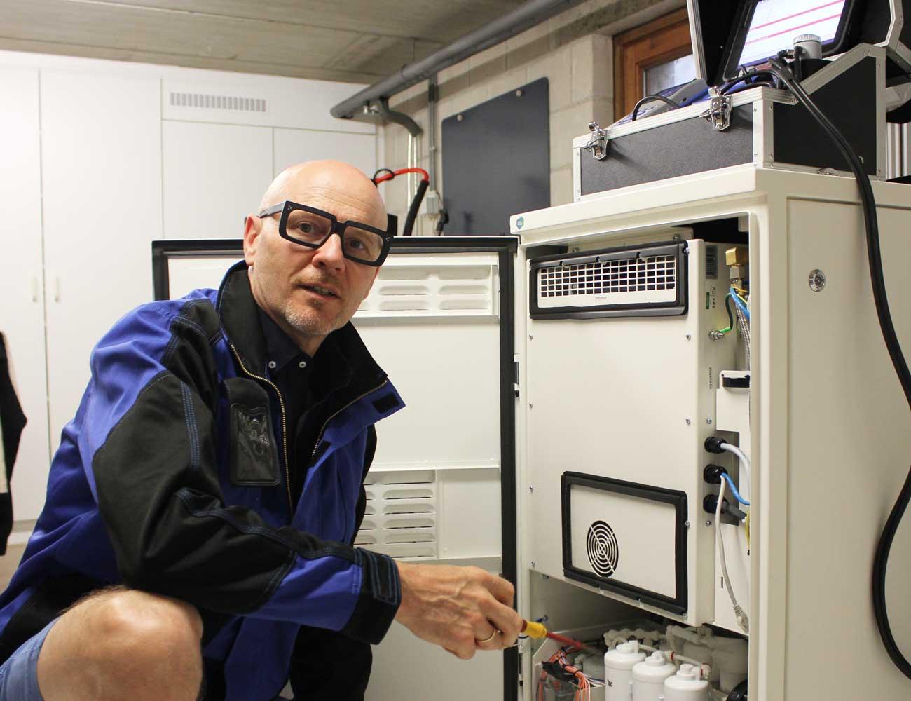 Onderhoud brandstofcel van BlueGEN door Timmers Gastechniek